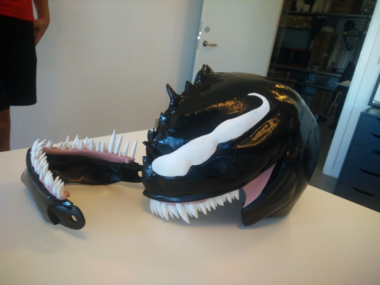 Spiderman – Venom 3d Printed Mask